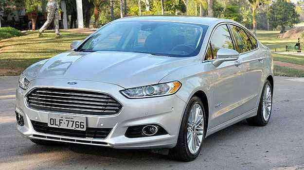Ford Fusion Hybrid faz 16,8 km/l na cidade e 14,7 km/l na estrada - Ford/Divulgação