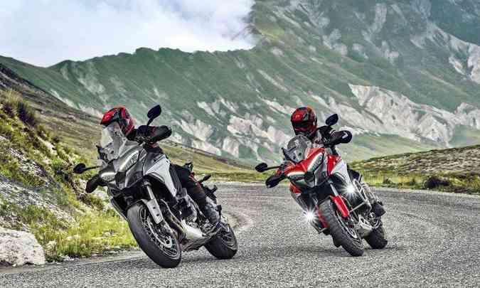 Lançado em 2003, o modelo Multistrada chega à sua quarta geração trazendo mais tecnologia(foto: Fotos: Ducati/Divulgação)