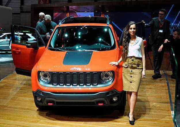 Jeep Renegade será fabricado na fábrica da Fiat em Pernambuco - Geneva Motor Show/Divulgação