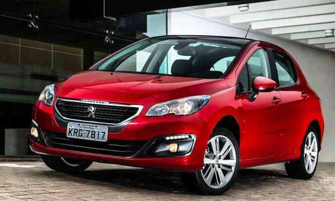 Em 2018 foram vendidas apenas 434 unidades do Peugeot 308(foto: Peugeot/Divulgação)