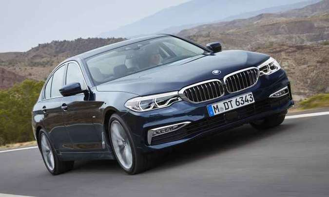 Sétima geração do BMW Série 5(foto: BMW/Divulgação)