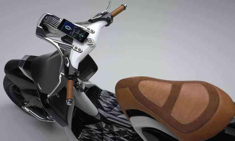 O painel é um aparelho celular - Yamaha/Divulgação