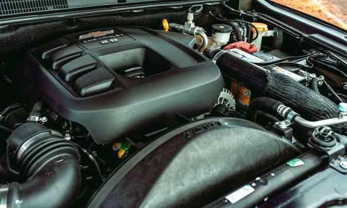O motor 2.8 turbodiesel conta com injeção direta de combustível e despeja 200cv e 51kgfm de torque(foto: Jorge Lopes/EM/D.A Press)