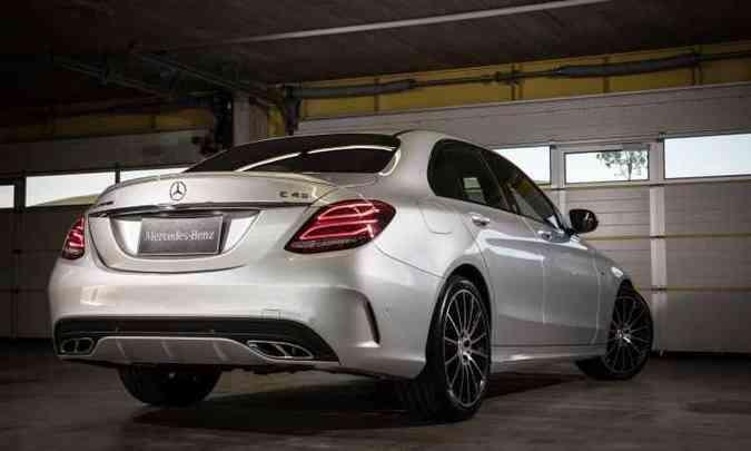 Mercedes-AMG C 43 (R$ 350.900)(foto: Malagrine/Mercedes-Benz Divulgação)