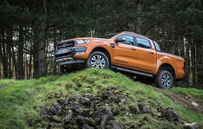 Picape Ford Ranger. Foto: Divulgação