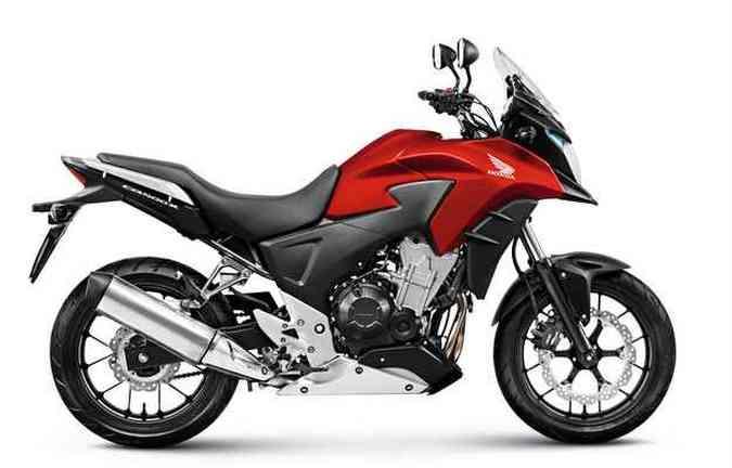 Vermelho perolizado estará disponível apenas na versão Standard(foto: Honda/ divulgação)
