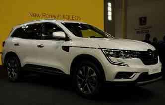 A Renault revelou o Koleos e afirma que o novo SUV é parte de uma grande ofensiva, que inclui o lançamento de 10 novos veículos ao redor do mundo em tempo recorde(foto: Joint Photographic Experts Group / Divulgação)