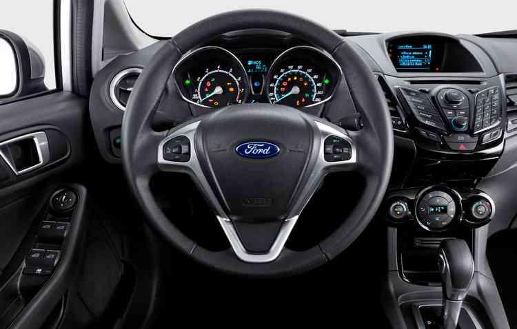 Sistema multimídia Sync é um dos destaques da cabine - Ford / Divulgação
