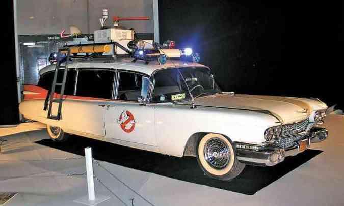 O Cadillac Miller 1959, sempre à caça de fantasmas(foto: Enio Greco/EM/D.A Press)