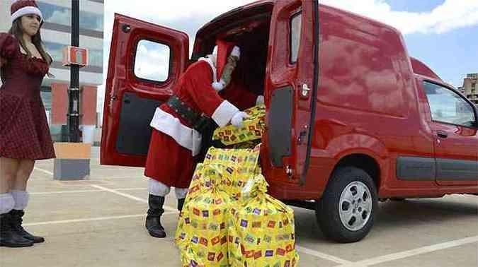 Compartimento de carga tem capacidade para até 3.100 litros(foto: Thiago Ventura/EM/D.A PRESS)