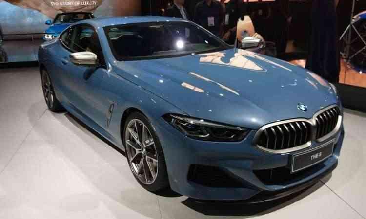 Após 20 anos, a BMW Série 8 volta a ocupar o topo da linha - Pedro Cerqueira/EM/D.A Press