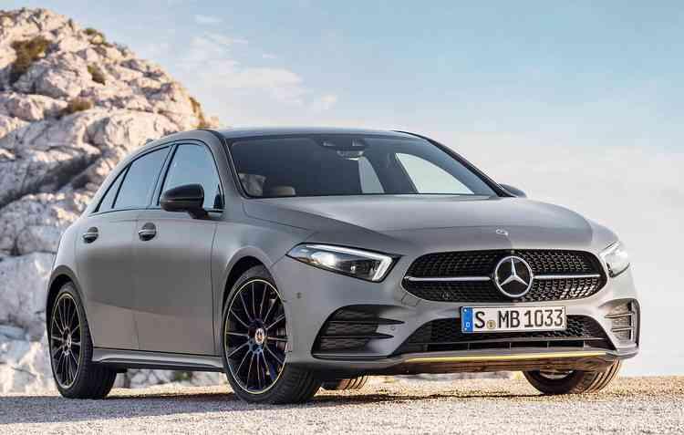 Classe A estreia esse ano na Europa - Mercedes-Benz / Divulgação