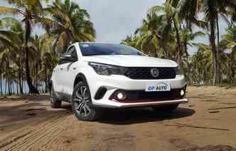 Fiat Argo aparece em oitava posição em relação aos mais vendidos em novembro(foto: Bruno Vasconcelos / DP)