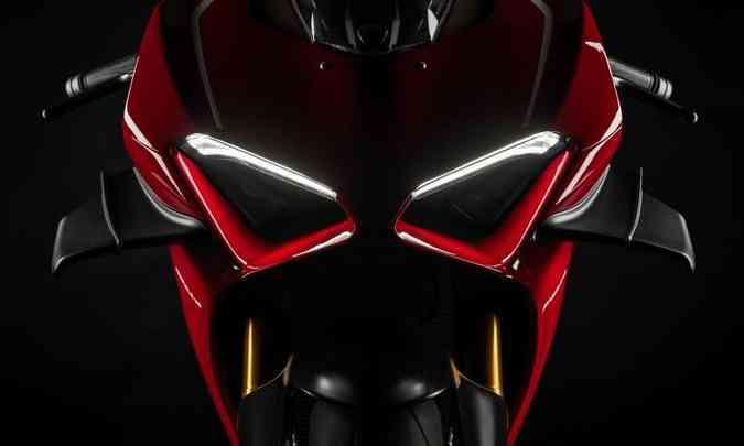 A iluminação é inteiramente em LED(foto: Ducati/Divulgação)