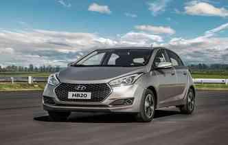 Hyundai apresenta a linha 2019 do HB20, em todas as carrocerias. Foto: Hyundai / Divulgação