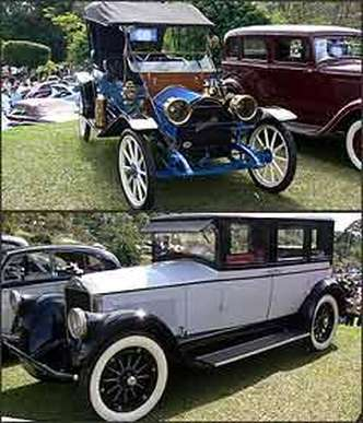 Hupmobile 1913, o mais antigo e Pierce-Arrow 1926