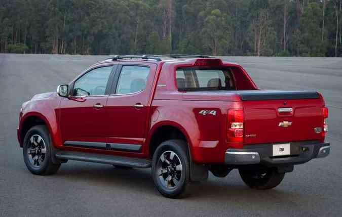Santantonio integrado à caçamba deixa o carro mais alto (foto: Chevrolet/divulgação )