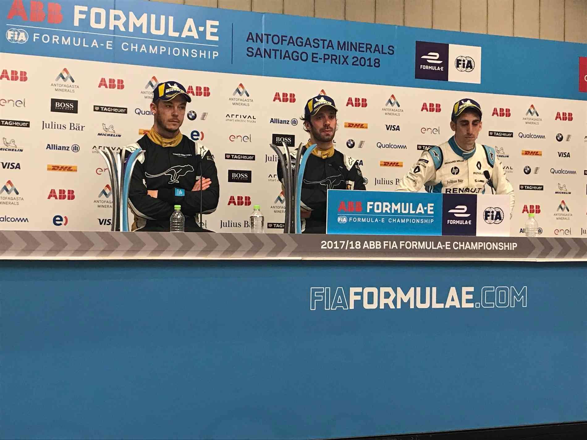 Campeões da 4ª Rodada da Fórmula E, no Chile  - Clayton Sousa/ Vrum Brasília