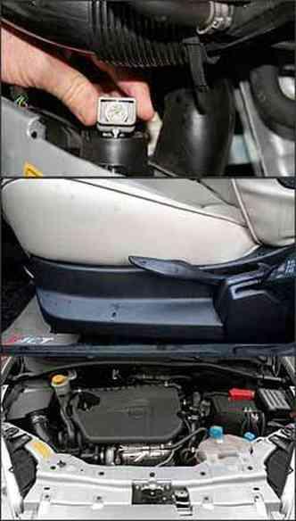 Regulagem de facho do farol exige abertura do capô, inconcebível na versão topo. Banco deveria ter regulagens elétricas para aumentar o conforto. Motor 1.4 16V turbo a gasolina tem 152 cv de potência
