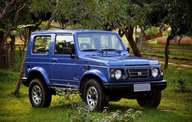 O Suzuki Samurai foi o modelo que antecedeu o Jimny(foto: Eduardo Aigner/ Divulgação )