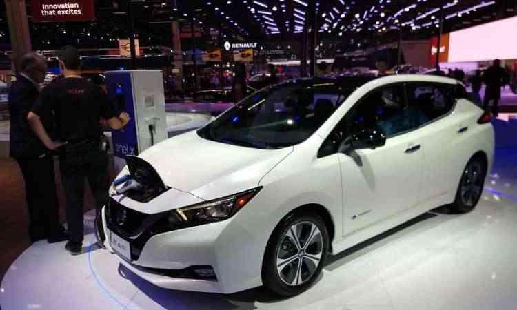 Nissan Leaf já pode ser comprado em pré-venda por R$ 178.400 - Pedro Cerqueira/EM/D.A Press