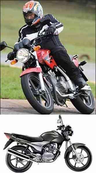Twister 250 terá visual inspirado na Hornet 600. CG 150 Sport usará o mesmo motor com injeção da Titan 2009(foto: Caio Mattos/Honda/Divulgação)