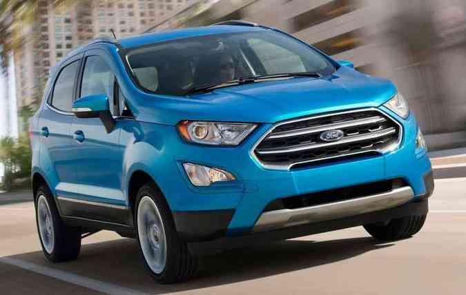 Ford Ecosport 2018 Comeca A Ser Produzido No Brasil Vrum