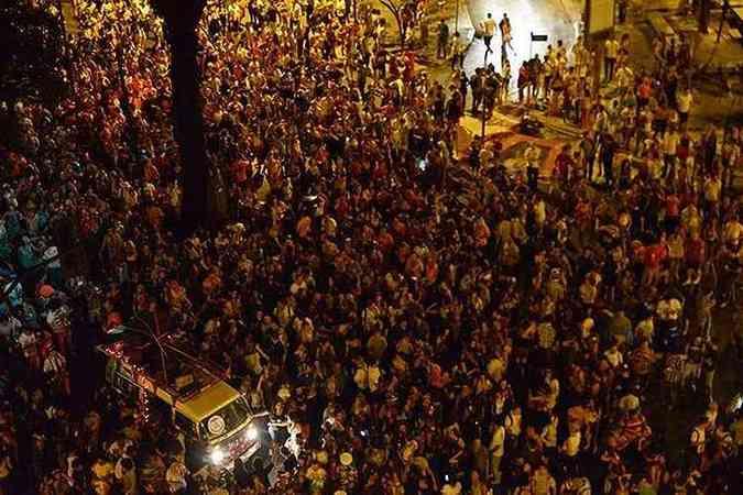 Kombi dá som no bloco Chama o Síndico(foto: Chama o Síndico/Divulgação)