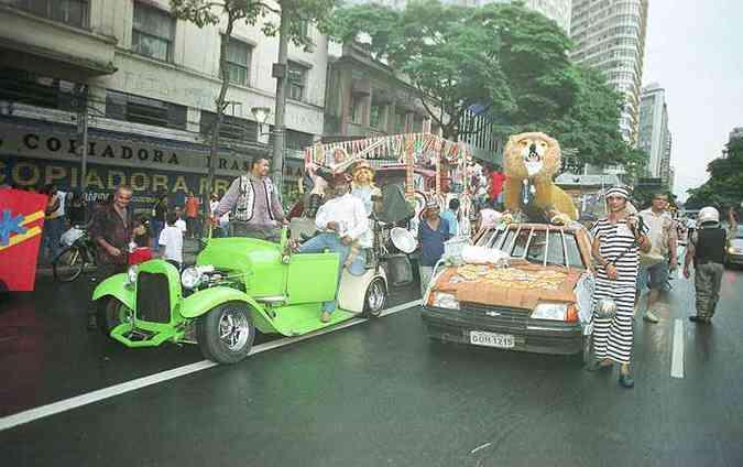 Carnaval de 2005(foto: Beto Magalhães)