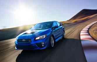 Subaru WRX STI (foto: NetCarShow/ divulgação)