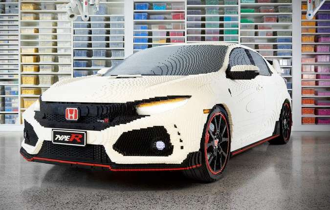 O veículo precisou de 320 mil peças para ser concluído. Foto: Honda/ Divulgação