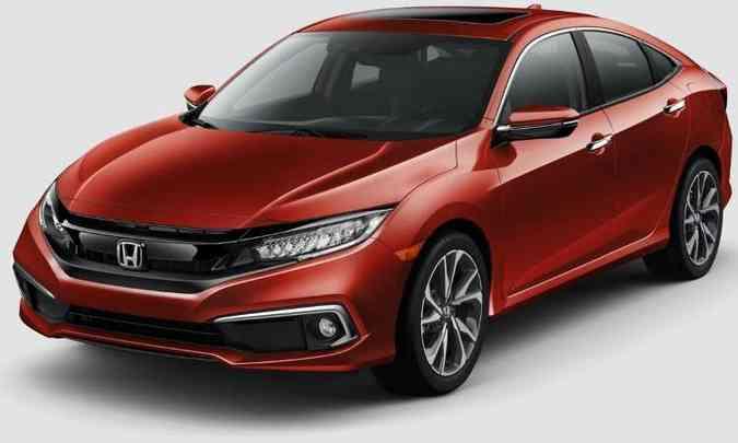 Honda Civic 2020(foto: Honda/Divulgação)