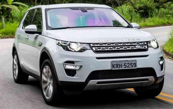 Range Rover Discovery Sports (foto: Jaguar Rand Rover / Divulgação )