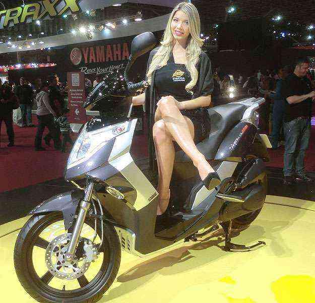 Cityclass 200 da Dafra tem rodas aro 16 e será lançado em maio - Teo Mascarenhas/Esp. EM