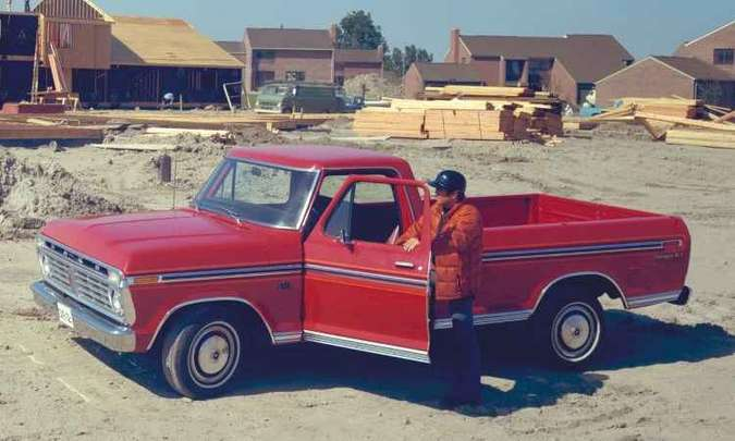 1975: F-150(foto: Ford/Divulgação)
