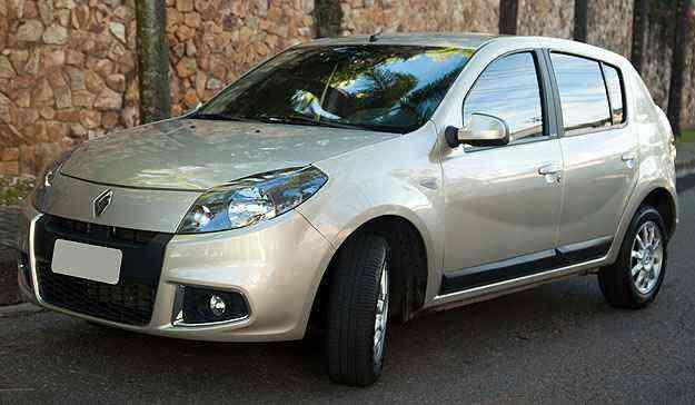 Renault Sandero é o modelo mais vendido em Minas em maio - Thiago Ventura/EM/D.A Press
