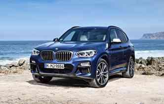 Modelo estará exibido no estande da marca durante o Auto China 2018. Foto: BMW / Divulgação