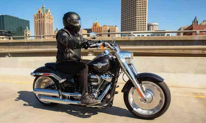 Harley-Davidson Softail Fat Boy(foto: Harley-Davidson/Divulgação)