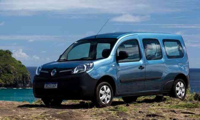 Renault Kangoo Z.E.(foto: Renault/Divulgação)