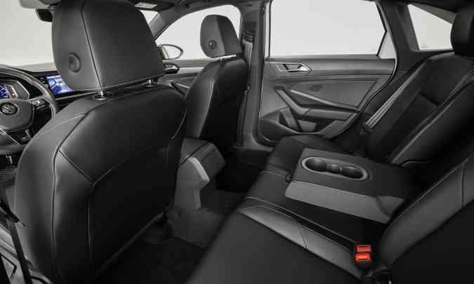 A Volkswagen afirma que o modelo agora tem espaço interno ainda maior e mais confortável(foto: Pedro Danthas/Volkswagen/Divulgação)