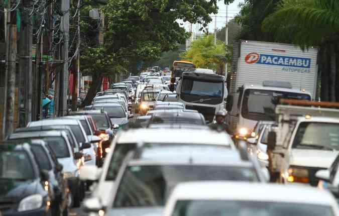 Aplicativo informa às seguradoras perfis dos motoristas (foto: Peu Ricardo/ DP)
