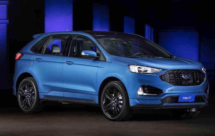 Novo Edge ST 2019 já está disponível para pré-venda. Foto: Ford / Divulgação -
