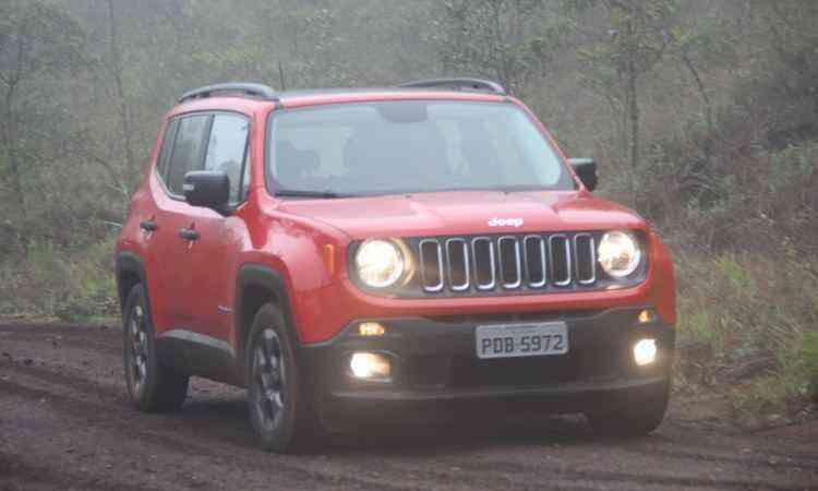 Jeep Renegade - Marlos Ney Vidal/EM/D.A Press - 1/12/15