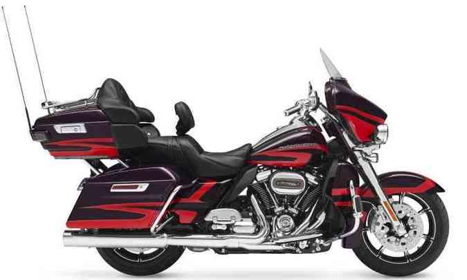 Customizada de fábrica, CVO Limited tem motor mais forte, Milwaukee-Eight 114(foto: Harley Davidson/Divulgação)
