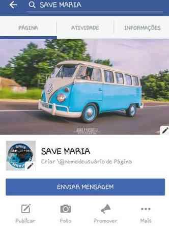 Campanha no Facebook visa arrecadar recursos para nova restauração(foto: Campanha Save Maria/Reprodução da internet)