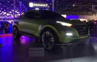 Hyundai lança Creta STC, modelo de picape esportiva, no Salão do Automóvel 2016(foto: Jorge Moraes/ DP )
