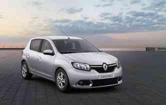 Renault Sandero e Logan possuem estrutura frágil o que despencou a classificação para o Latin NCap. Foto: Renault / Divulgação