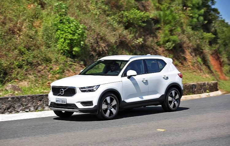 Estratégia da Volvo é fazer lançamentos exclusivos dos seus modelos. Foto: Volvo / Divulgação -
