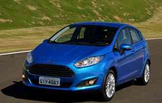 Ford Fiesta chegou no Brasil há 23 anos. Foto: Ford / Divulgação