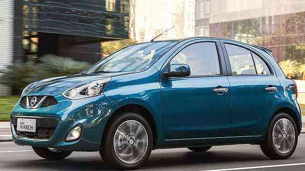 Terceiro veículo flex mais econômico no Brasil é o Nissan March - Nissan/Divulgação